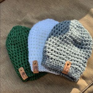 Great for the upcoming seasons!  Handmade hat.
